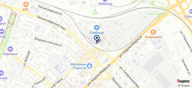 Прокатная фирма на карте