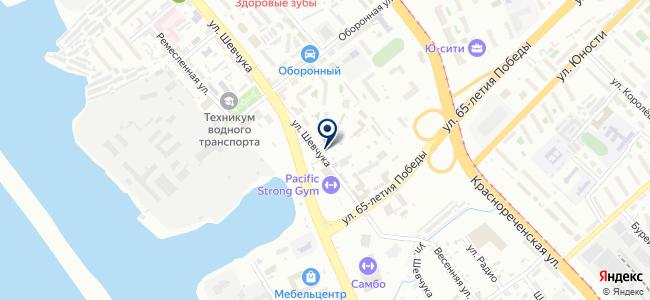 Аксис, ООО на карте