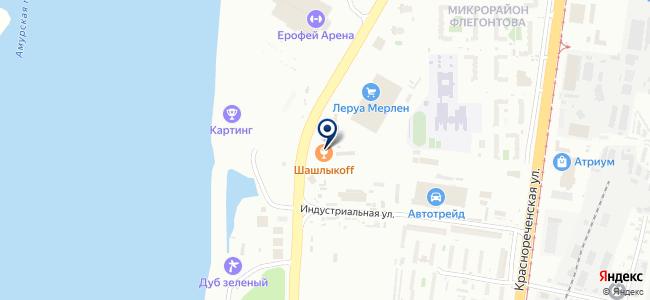 Восточный полюс, ООО на карте