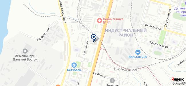 Decorro на карте