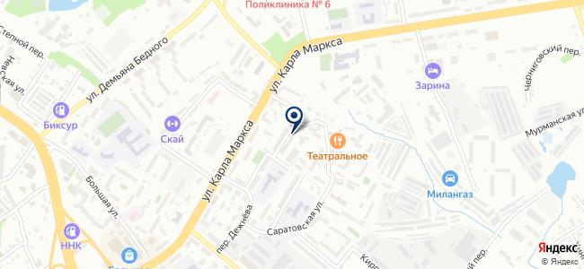 ДальПолимерСервис на карте