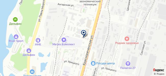 Компания СКЗ-ДВ, ООО на карте