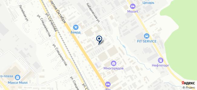 ПроСветДВ на карте