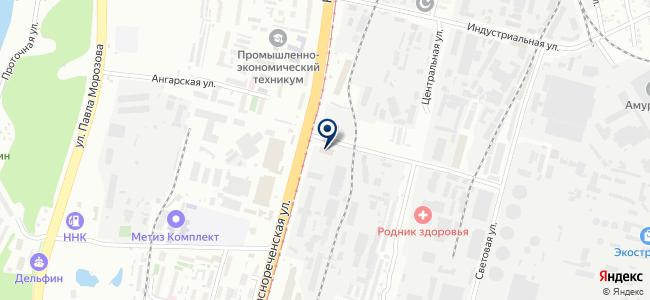 Дальпромснаб, ООО на карте
