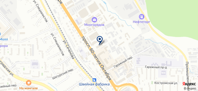 КОМЭН, ООО, технический центр на карте
