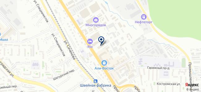 Люстра ДВ на карте