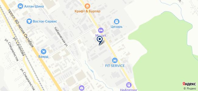 Дальний свет, ООО на карте