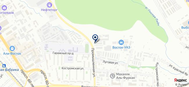 Бизнес-Восток, ООО на карте