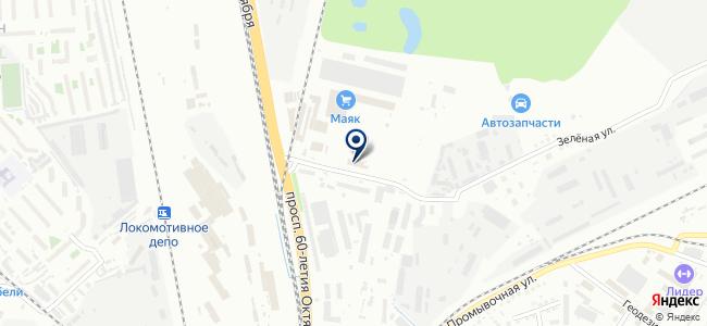 Техноцентр-Энерго на карте
