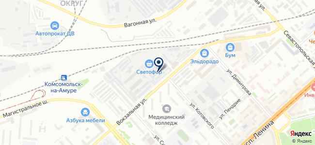 СантехНова на карте