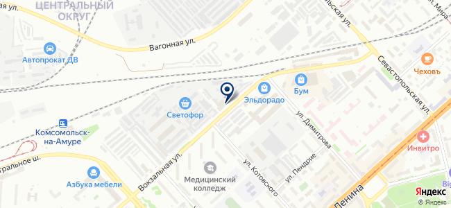 Стройка на карте