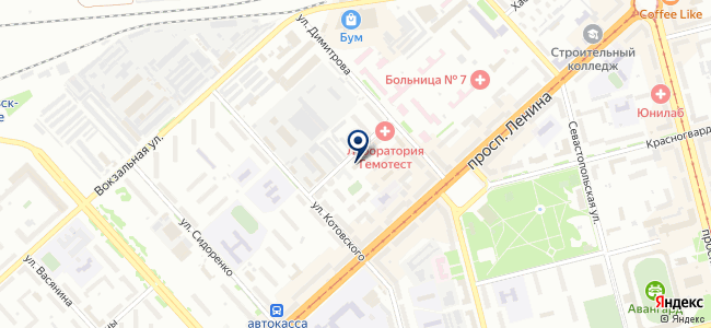 ЭНЕРГОРЕМОНТ, ЗАО на карте