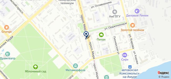 Зодчий, ООО на карте