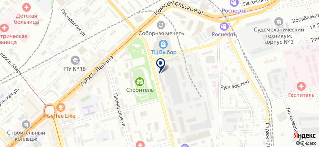 Центр потолков на ул. Кирова, 54 на карте
