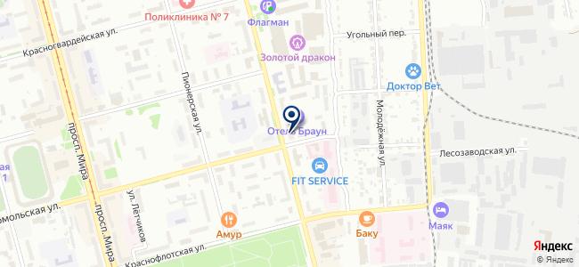 Комсомольскподшипникторг на карте