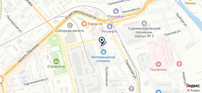 КОНТАКТОР на карте
