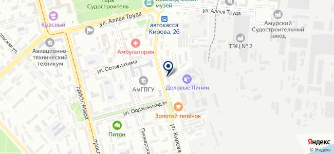 Электролампы на карте
