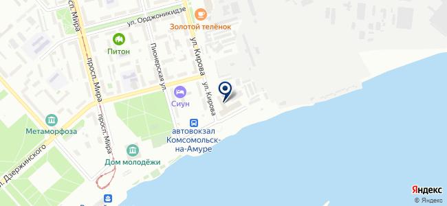 Инженерно-консультационный центр, НОУ на карте