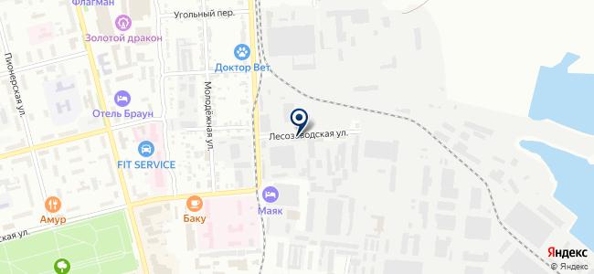 Комсомольское монтажное управление на карте