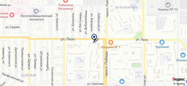 Билдинг-Сервис на карте