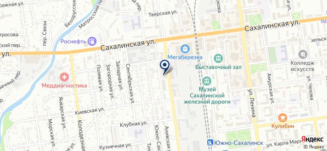 СахГрад на карте