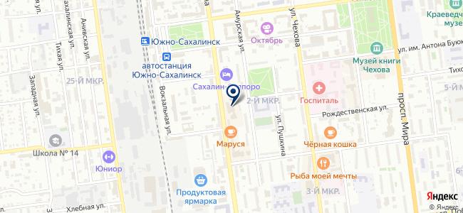 Замки на карте