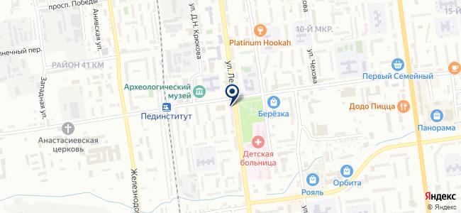 СЦ ЕКЕЙ на карте