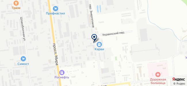 ИНГКОРУС, ООО на карте
