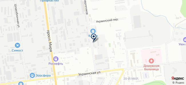 Электроприбор на карте