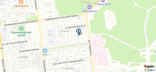 Альтеза на карте