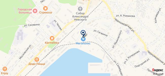 Мегаполис на карте