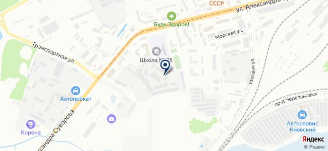 Оптово-розничный магазин светильников на карте