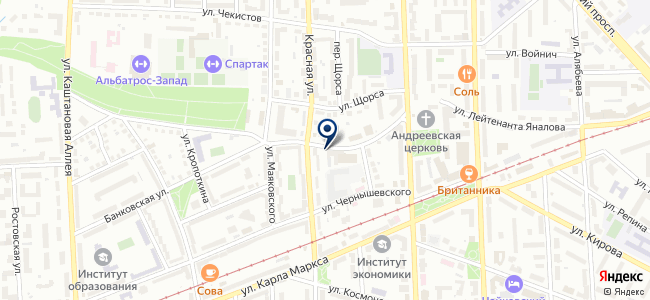 СБР-студио на карте