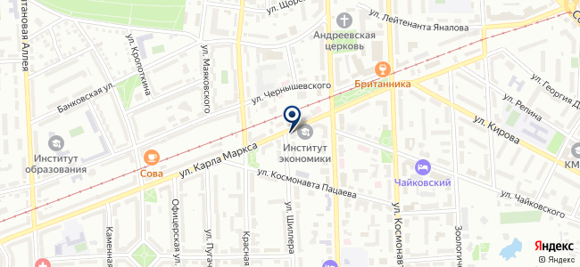 Балко ГМ на карте