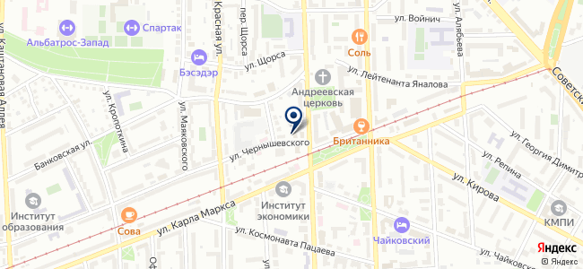 Балт ТЭК Инвест на карте