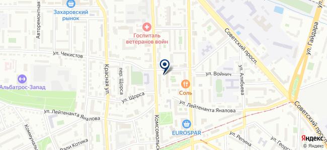 Магазин электро-хозяйственных товаров на карте