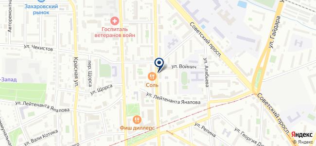 Санилюкс, ООО на карте