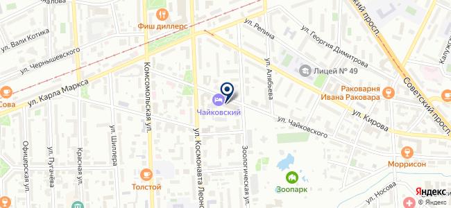 Rusdecor на карте