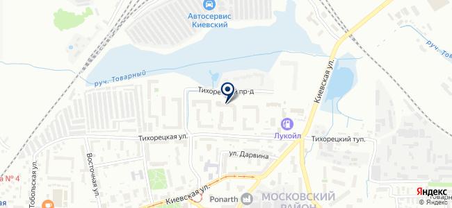 Еврокомсервис на карте