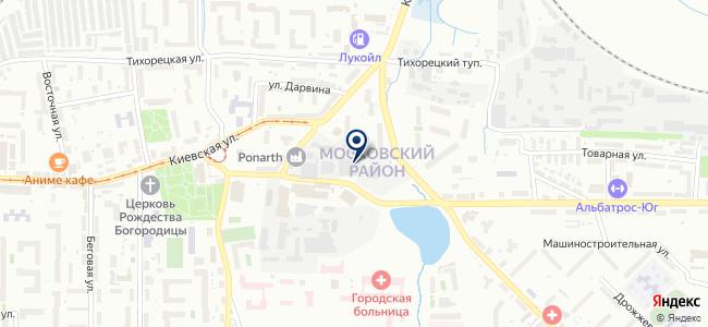 АСНЕС на карте