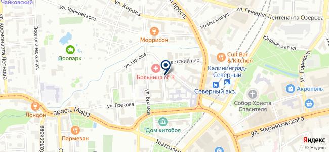Агентство информационной безопасности, ООО на карте