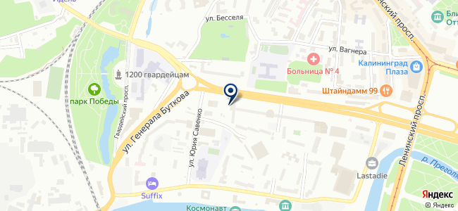 Балэлектросетьстрой на карте