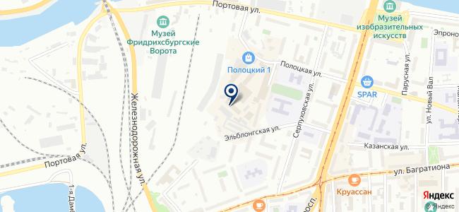 Магазин светильников на Полоцкой, 1 к3 на карте