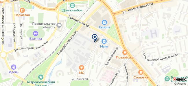 Магазин металлоискателей на карте