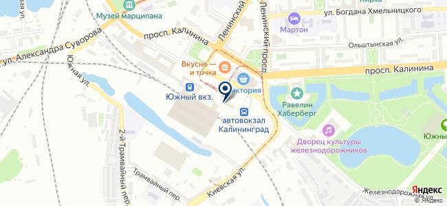 Магазин бытовой электроники на карте