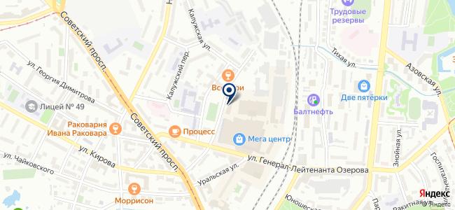 МАСТЕР КЛАСС на карте