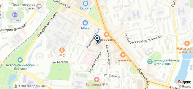 Магазин электро-хозяйственных товаров для дома на карте