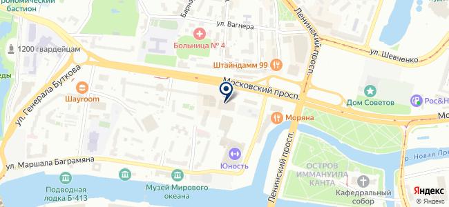 Интерьер Строй, ООО на карте