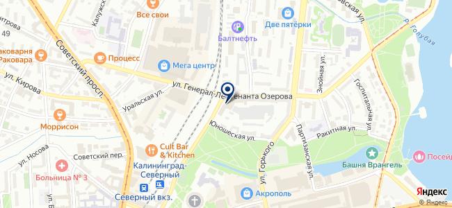 Балт Электрик на карте