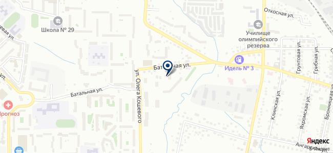 Дина КД на карте